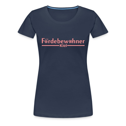 foerdebewohner - Frauen Premium T-Shirt