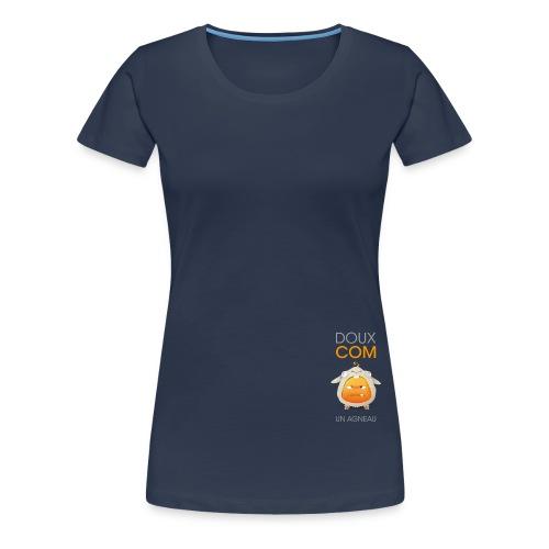 Comquoi doux comme un agneau - T-shirt Premium Femme
