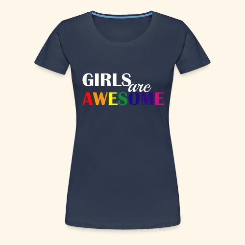 Girls are awesome - Koszulka damska Premium