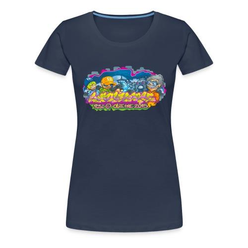 Untouchable - Dame premium T-shirt