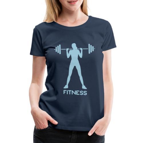 Fitness W - Maglietta Premium da donna
