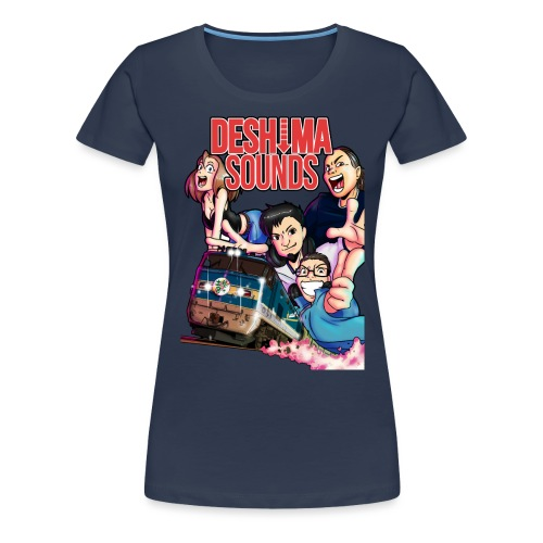 NighttrainTee png - Vrouwen Premium T-shirt