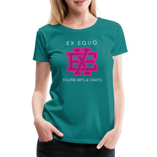 EX EQUO Arts and Crafts - Vrouwen Premium T-shirt