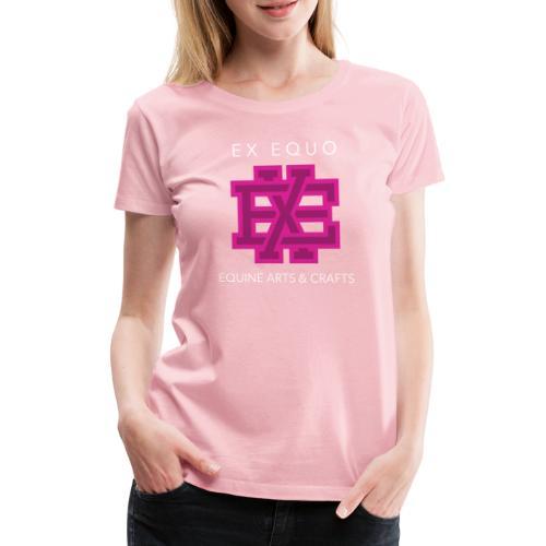 EX EQUO Arts and Crafts - Vrouwen Premium T-shirt