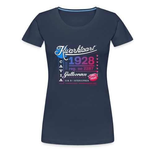 Kwarktaart - Vrouwen Premium T-shirt