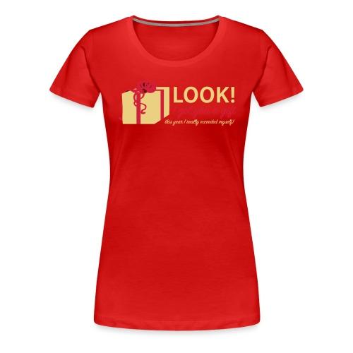 Täydellinen lahja - Naisten premium t-paita