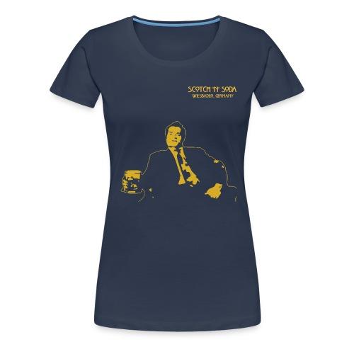 Scotch Guy - Women's Premium T-Shirt