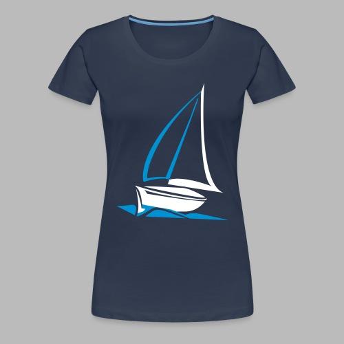 segelyacht - Frauen Premium T-Shirt