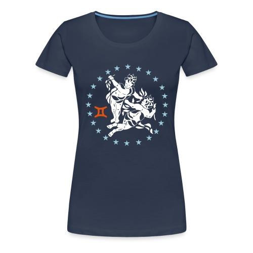 Tablier de cuisine : Zodiaque Gémeaux - Women's Premium T-Shirt