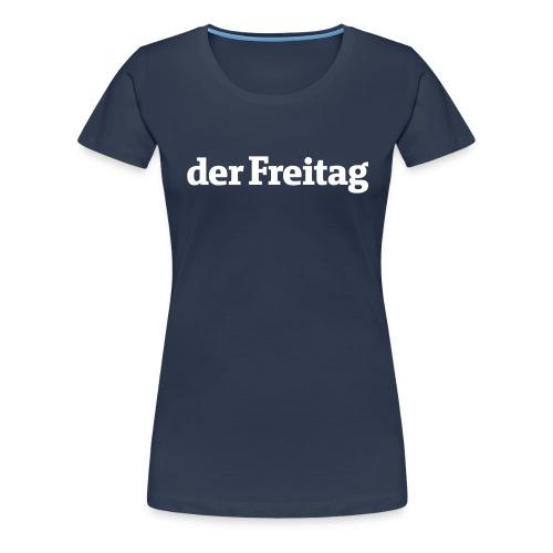 logo freitag ohne uz - Frauen Premium T-Shirt