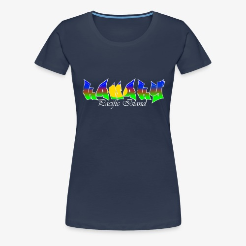 Pacific island - T-shirt Premium Femme
