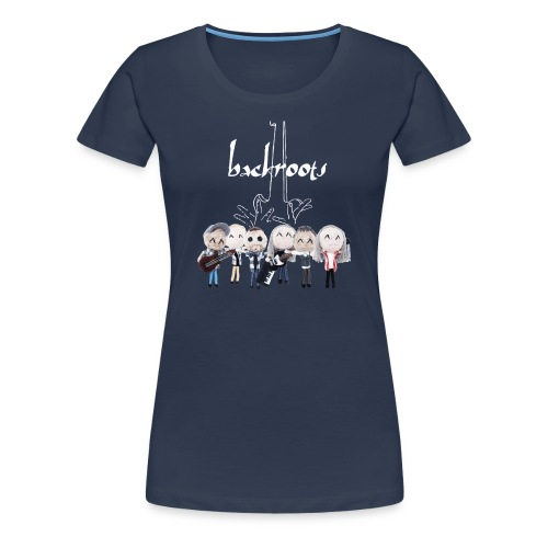 Backroots CD T-Shirt - Frauen Premium T-Shirt