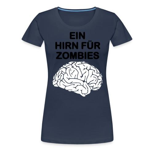 hirn - Frauen Premium T-Shirt