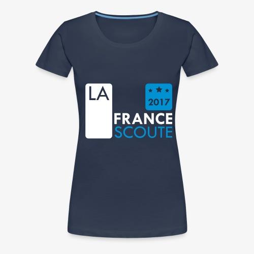 La France Scoute - 2017 - T-shirt Premium Femme
