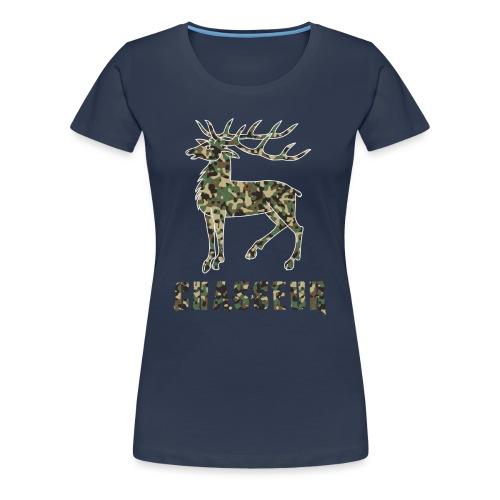 chasseur camo - T-shirt Premium Femme