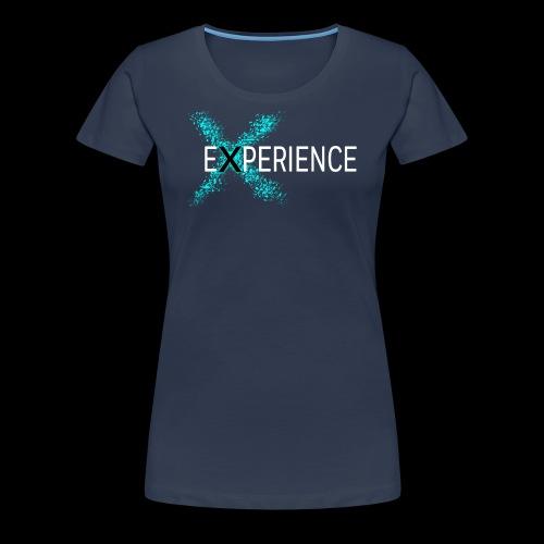Experience logo - Dame premium T-shirt