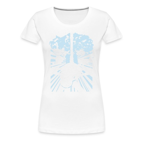 influencedby png - Dame premium T-shirt