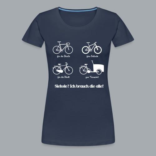 Bikepark - Frauen Premium T-Shirt