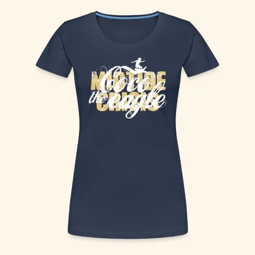 midtidecrisisCocosandweiß png - Frauen Premium T-Shirt