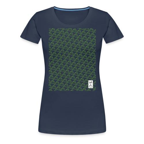 YOLO_TEE_TRAME_VERT - T-shirt Premium Femme