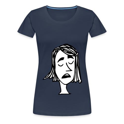 dora scheisst klug 2c - Frauen Premium T-Shirt