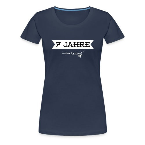 7jahre_2_white-01-01 - Frauen Premium T-Shirt