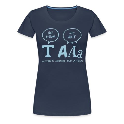 mistert - Frauen Premium T-Shirt