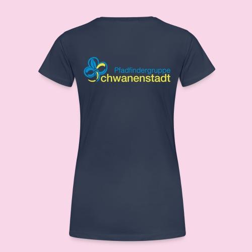 PGschwaunarin 2seitig - Frauen Premium T-Shirt