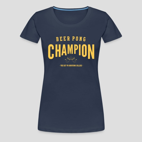 Beerpong Champion T-Shirt - Frauen Premium T-Shirt