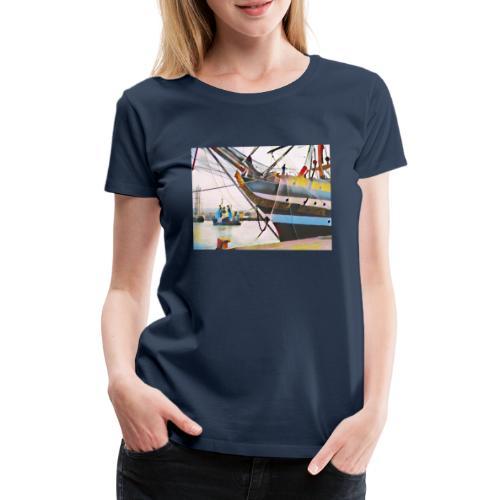Schiff Nr. 2 - Frauen Premium T-Shirt