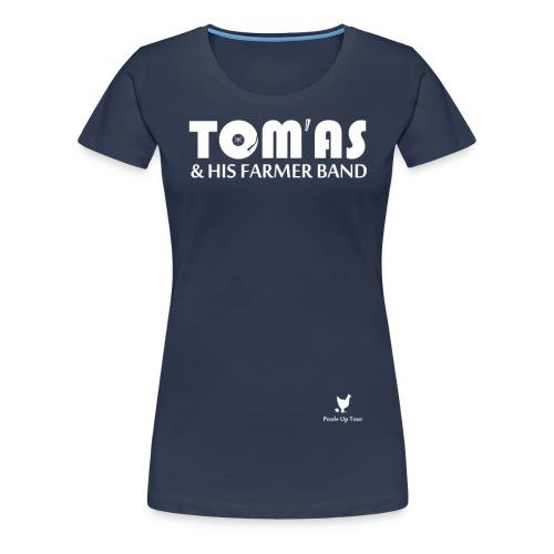 THFB pour T Shirt noir png - T-shirt Premium Femme