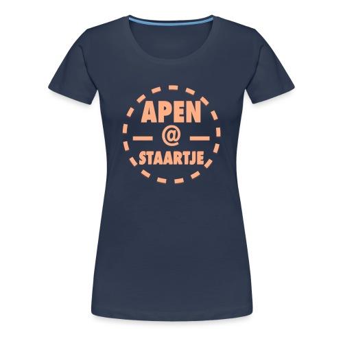 Apenstaartje Merchandise 1 png - Vrouwen Premium T-shirt