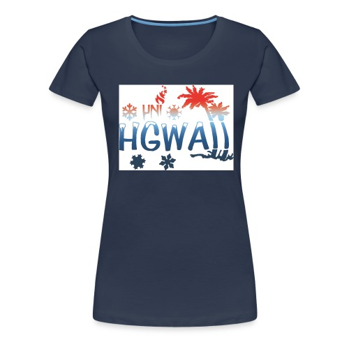 HGWAII - Frauen Premium T-Shirt
