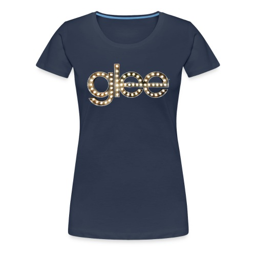 Glee Logo Light Bulbs - Frauen Premium T-Shirt