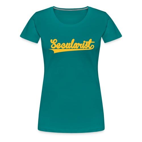 nssshirtbaseballgreen - Women's Premium T-Shirt