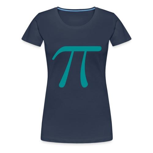 Pi blue t-shirt - Women's Premium T-Shirt