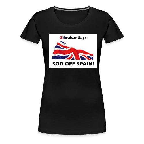 gibsays - Women's Premium T-Shirt