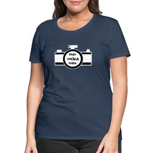 Photographer weiß - Frauen Premium T-Shirt