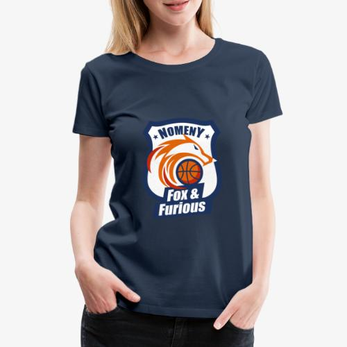 Nomeny Basket Bleu - T-shirt Premium Femme