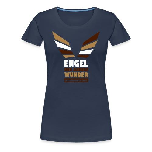 Engel dreifarbig - Frauen Premium T-Shirt