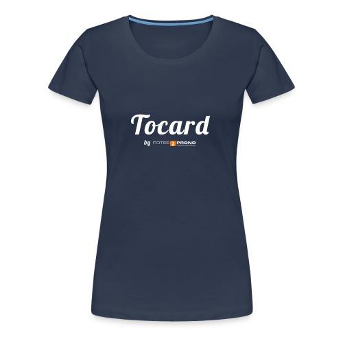 TshirtTocard01 png - T-shirt Premium Femme
