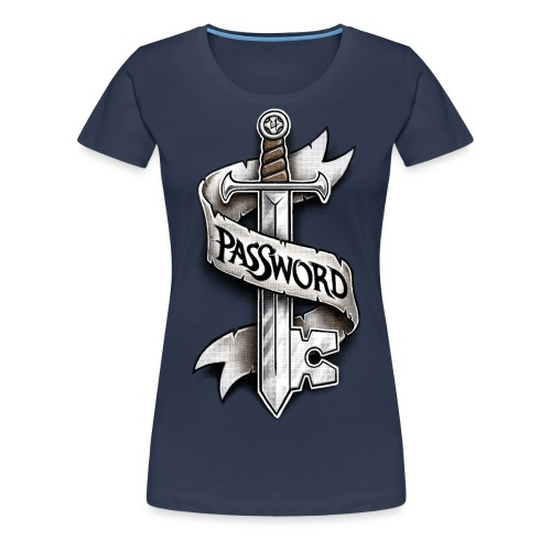 PasSword - Women's Premium T-Shirt