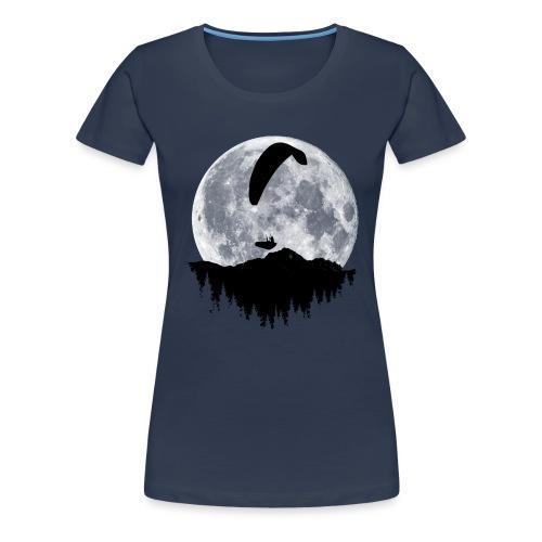 Paralgeiter im Vollmond - Frauen Premium T-Shirt