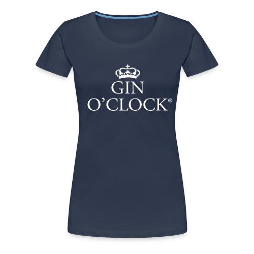 Gin O'Clock - Women's Premium T-Shirt