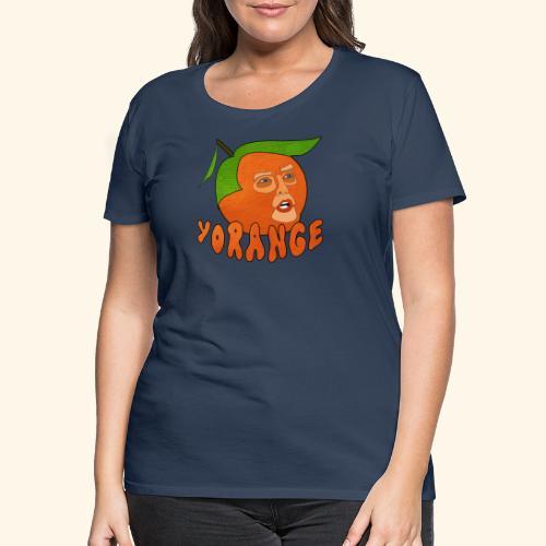 Yorange - Premium-T-shirt dam