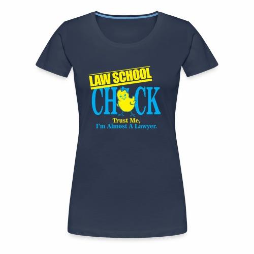 Law School Chick - Women's Premium T-Shirt