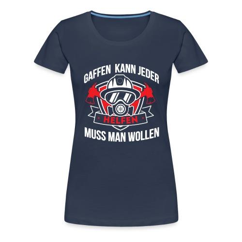 Gaffen Feuerwehr - Frauen Premium T-Shirt