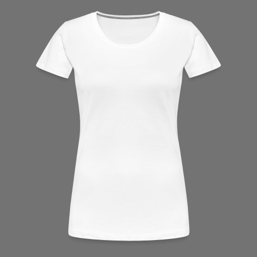 160 BPM (white typo) - Naisten premium t-paita
