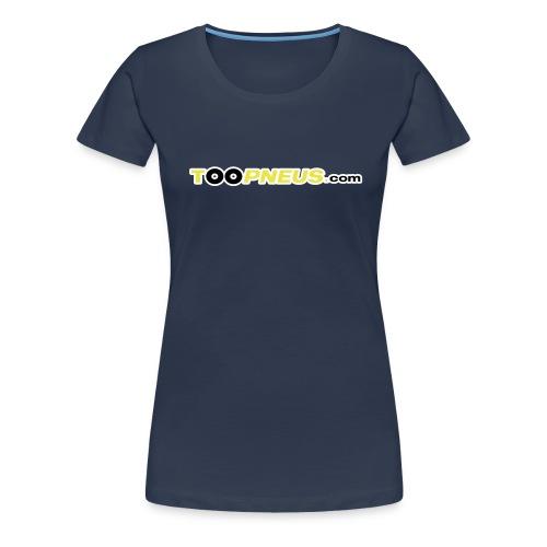 toopneus vectoriel 2010 - T-shirt Premium Femme