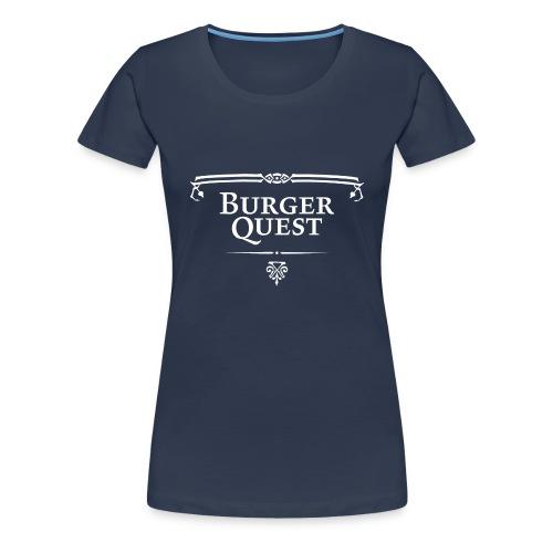 Burgerquest Logo pixel - Vrouwen Premium T-shirt